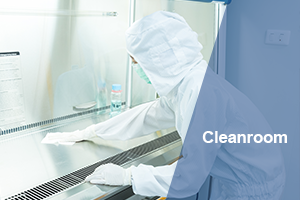 Cleanroom critical cleaning solutions