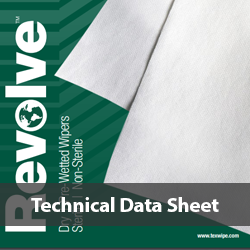 Texwipe Revolve Data Sheet